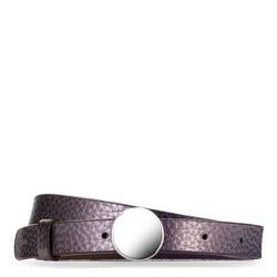 Dámský opasek, světle fialový, 87-8D-311-9-XL, Obrázek 1