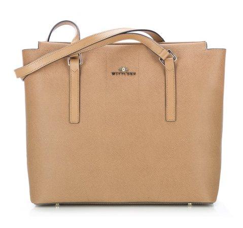 Dámská kabelka, světle hnědá, 85-4E-442-5, Obrázek 1