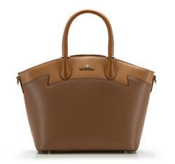 Dámská kabelka, světle hnědá, 85-4E-448-5, Obrázek 1