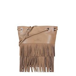 Dámská kabelka, světle hnědá, 88-4E-926-9, Obrázek 1