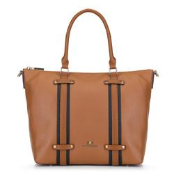 Dámská kabelka, světle hnědá, 89-4E-200-5, Obrázek 1