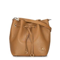 Dámská kabelka, světle hnědá, 89-4E-370-9, Obrázek 1