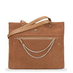 Dámská kabelka, světle hnědá, 90-4E-359-5, Obrázek 1