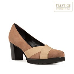 Dámské boty, světle hnědá, 83-D-116-8-39_5, Obrázek 1
