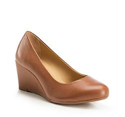 Dámské boty, světle hnědá, 86-D-707-5-35, Obrázek 1
