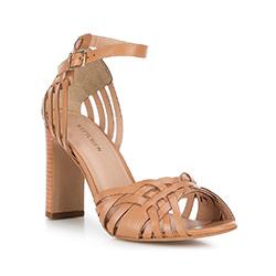 Dámské boty, světle hnědá, 88-D-250-5-37, Obrázek 1