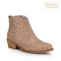 Dámské boty, světle hnědá, 88-D-457-5-40, Obrázek 1