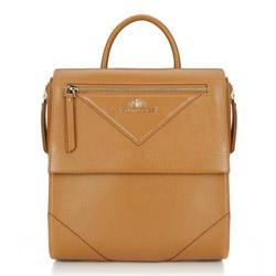 Dámský batoh, světle hnědá, 86-4E-379-5, Obrázek 1