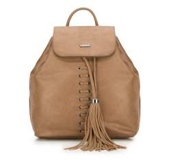 Dámský batoh, světle hnědá, 87-4Y-354-5, Obrázek 1