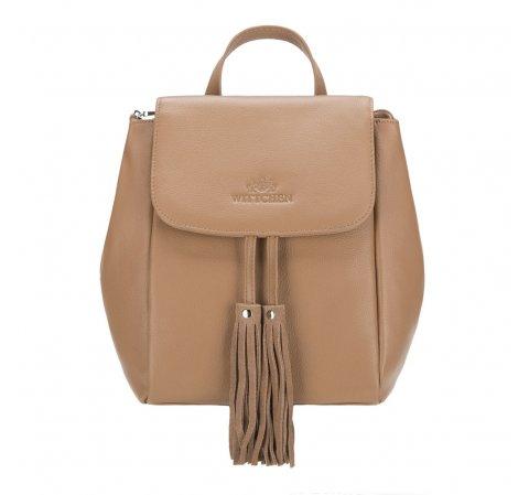 Dámský batoh, světle hnědá, 88-4E-932-9, Obrázek 1