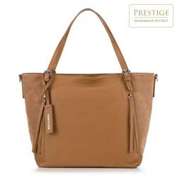 Dámská kabelka, světle hnědá, 90-4E-006-5, Obrázek 1