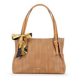 Dámská kabelka, světle hnědá, 90-4Y-354-5, Obrázek 1
