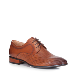 Pánské boty, světle hnědá, 88-M-501-5-41, Obrázek 1