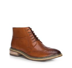 Pánské boty, světle hnědá, 89-M-924-5-42, Obrázek 1