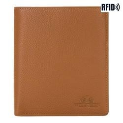 Kožená pánská peněženka, světle hnědá, 02-1-139-5L, Obrázek 1