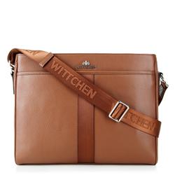 Taška na notebook, světle hnědá, 88-3U-400-5, Obrázek 1
