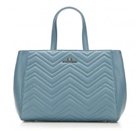 dámská kabelka, světle modrá, 87-4E-209-8, Obrázek 1