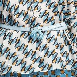 Dámský opasek, světle modrá, 86-8D-311-N-L, Obrázek 1