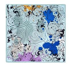 Dámský šátek, světle modrá, 86-7D-S13-X12, Obrázek 1