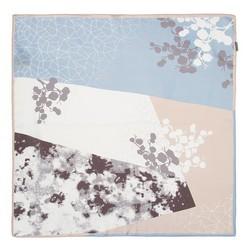 Hedvábný šátek, světle modrá, 93-7D-S01-42, Obrázek 1