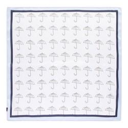 Hedvábný šátek, světle modrá, 93-7D-S01-30, Obrázek 1