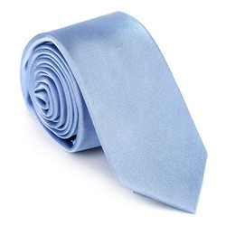 Kravata, světle modrá, 92-7K-001-N, Obrázek 1