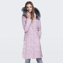 Dámská bunda, světle růžová, 87-9N-503-P-3XL, Obrázek 1