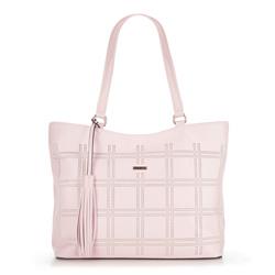 Dámská kabelka, světle růžová, 90-4Y-755-P, Obrázek 1