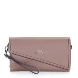 Dámská kabelka, světle růžový, 87-4E-437-9, Obrázek 1
