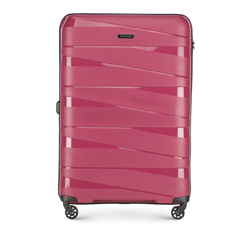 Velký kufr, světle růžový, 56-3T-793-35, Obrázek 1