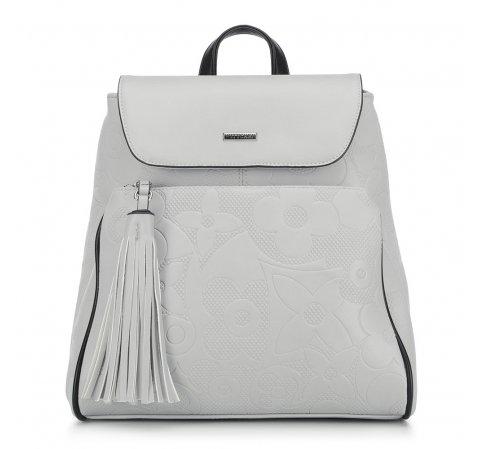 Dámský batoh, světle šedá, 90-4Y-602-1, Obrázek 1