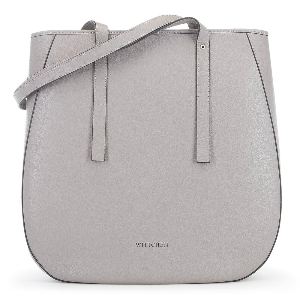 Dámská kabelka, světle šedá, 91-4E-602-8, Obrázek 1