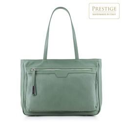 Dámská kabelka, světle zelená, 88-4E-006-Z, Obrázek 1