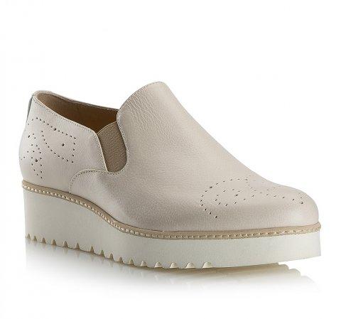Обувь женская, светло-бежевый, 80-D-118-0-39_5, Фотография 1