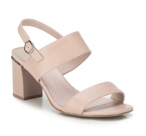 Обувь женская, светло-бежевый, 88-D-969-9-39, Фотография 1