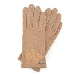 Перчатки женские, светло-бежевый, 47-6-113-A-U, Фотография 1