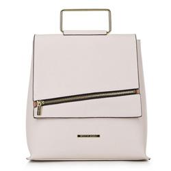 Рюкзак женский, светло-бежевый, 90-4Y-409-9, Фотография 1