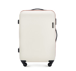 Средний чемодан, светло-бежевый, 56-3-612-85, Фотография 1