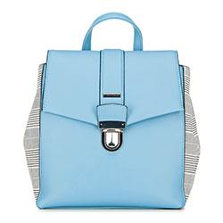 Рюкзак женский, светло-голубой, 90-4Y-610-N, Фотография 1