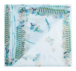 Шарф женский, светло-голубой, 85-7D-S40-X7, Фотография 1