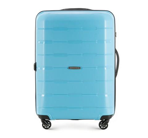 Средний чемодан, светло-голубой, 56-3T-722-10, Фотография 1