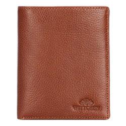 Мужской кожаный кошелек, светло-коричневый, 21-1-221-5, Фотография 1