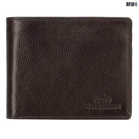 Мужской кожаный кошелек на двух молниях, светло-коричневый, 21-1-040-12L, Фотография 1