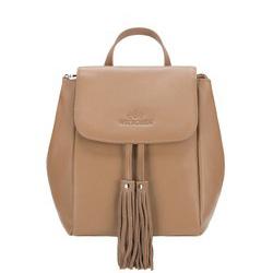 Рюкзак женский, светло-коричневый, 88-4E-932-9, Фотография 1