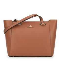 Сумка-шоппер, светло-коричневый, 89-4-507-4, Фотография 1