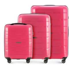 Комплект чемоданов, светло-розовый, 56-3T-72S-30, Фотография 1