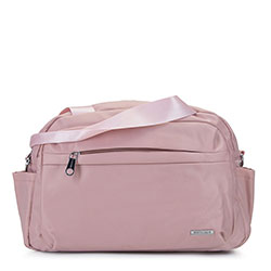 Маленькая нейлоновая дорожная сумка, светло-розовый, 92-4Y-104-P, Фотография 1