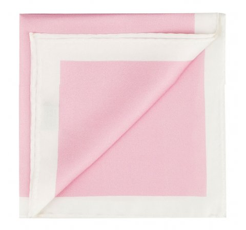 Нагрудный платок, светло-розовый, 87-7P-001-7X, Фотография 1