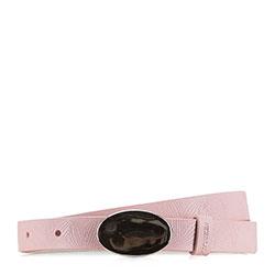 Ремень женский, светло-розовый, 90-8D-310-P-M, Фотография 1