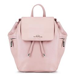 Рюкзак женский, светло-розовый, 88-4E-365-P, Фотография 1